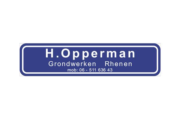 H. Opperman Grondwerken